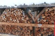 bois de chauffage poêle de masse