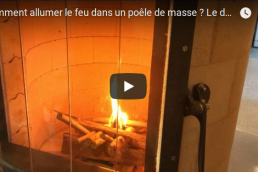 Comment allumer feu poêle à inertie