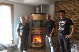 Installation poêle à inertie dans Maine et Loire