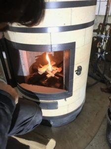 poele ardeche flambee